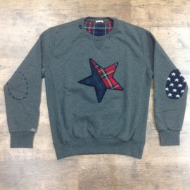 SUDADERA IN THE BOX GRIS